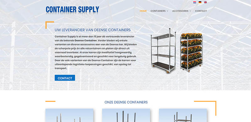 website Container Supply