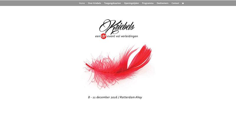 Website Kriebels Event