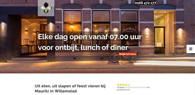 Website Mauritz Willemstad