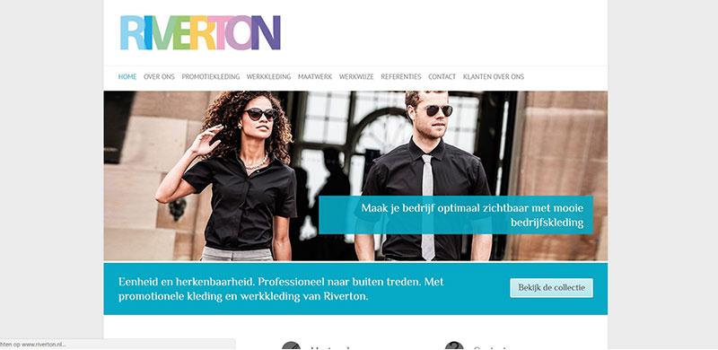 Website Riverton Corporate Fashion